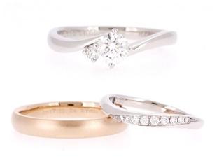 婚約指輪と結婚指輪を♪