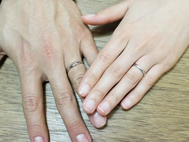 婚約・結婚指輪どちらも*